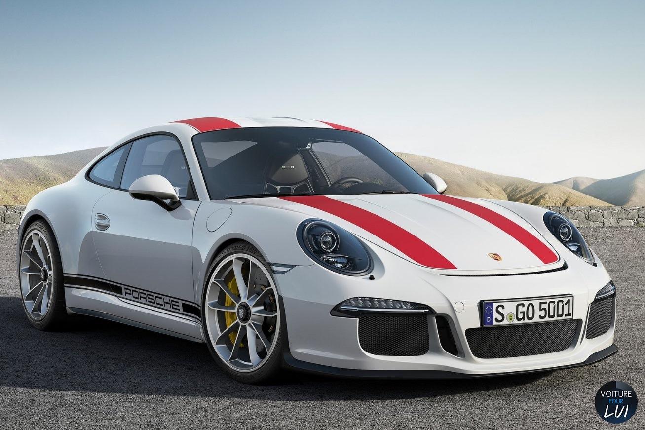 Nouvelle photo : Porsche911-R-2017