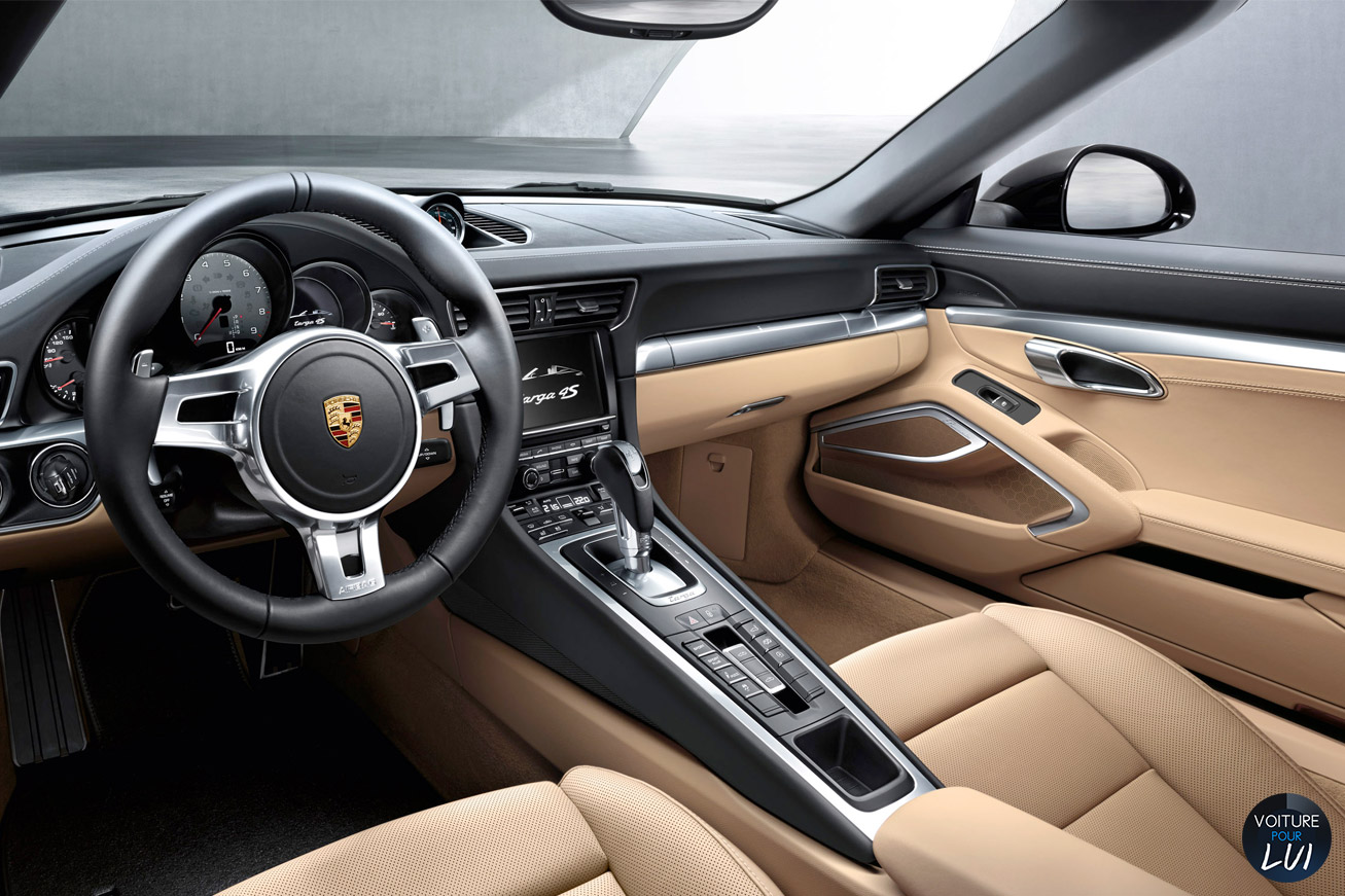 Photos porsche 911 targa 2015 2015 numero 16 for Interieur porsche