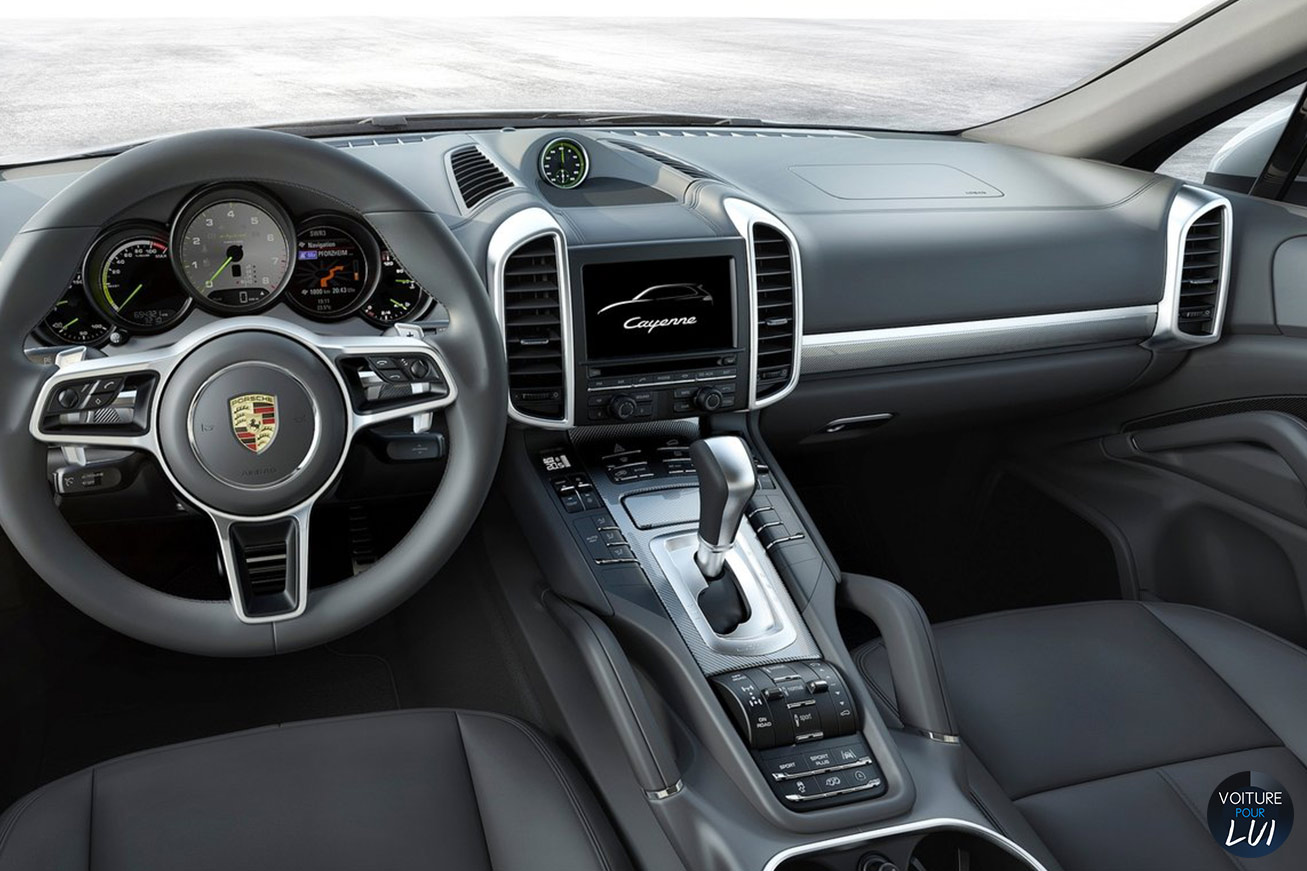Photos porsche cayenne 2015 2015 numero 15 for Interieur porsche cayenne