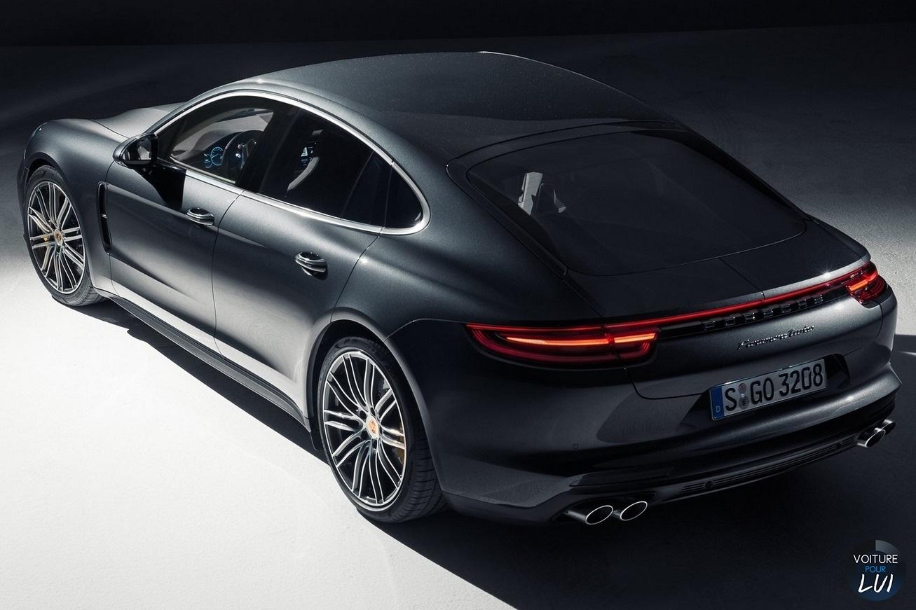 Porsche  PANAMERA 2017   Turbo Noir Arriere  http://www.voiturepourlui.com/images/Porsche//Exterieur/Porsche_Panamera_2017_010_turbo_noir_arriere.jpg