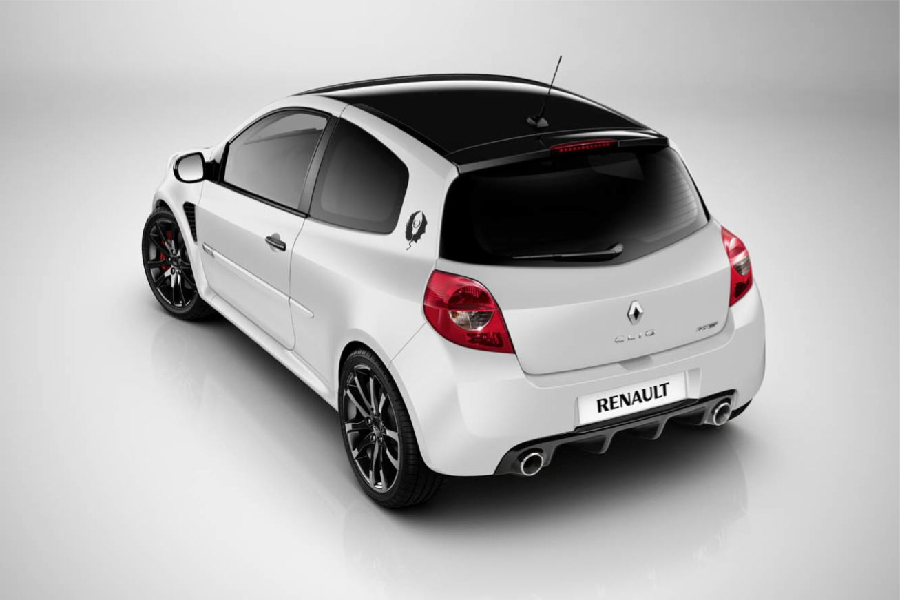 toutes les photos renault clio rs ange et demon sur voiture pour lui. Black Bedroom Furniture Sets. Home Design Ideas