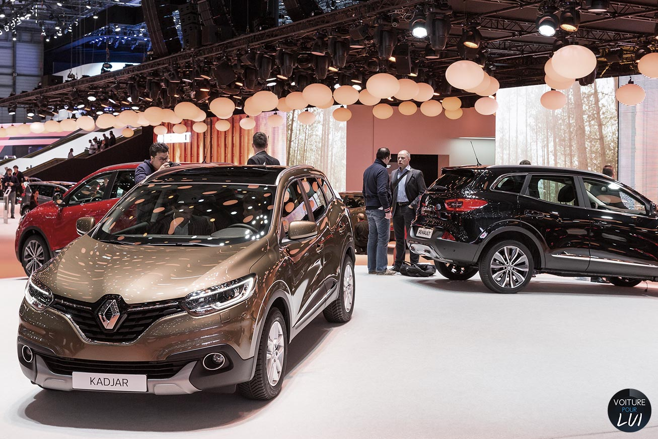 Photos renault kadjar salon geneve 2015 2015 numero 10 - Geneve 2015 salon ...