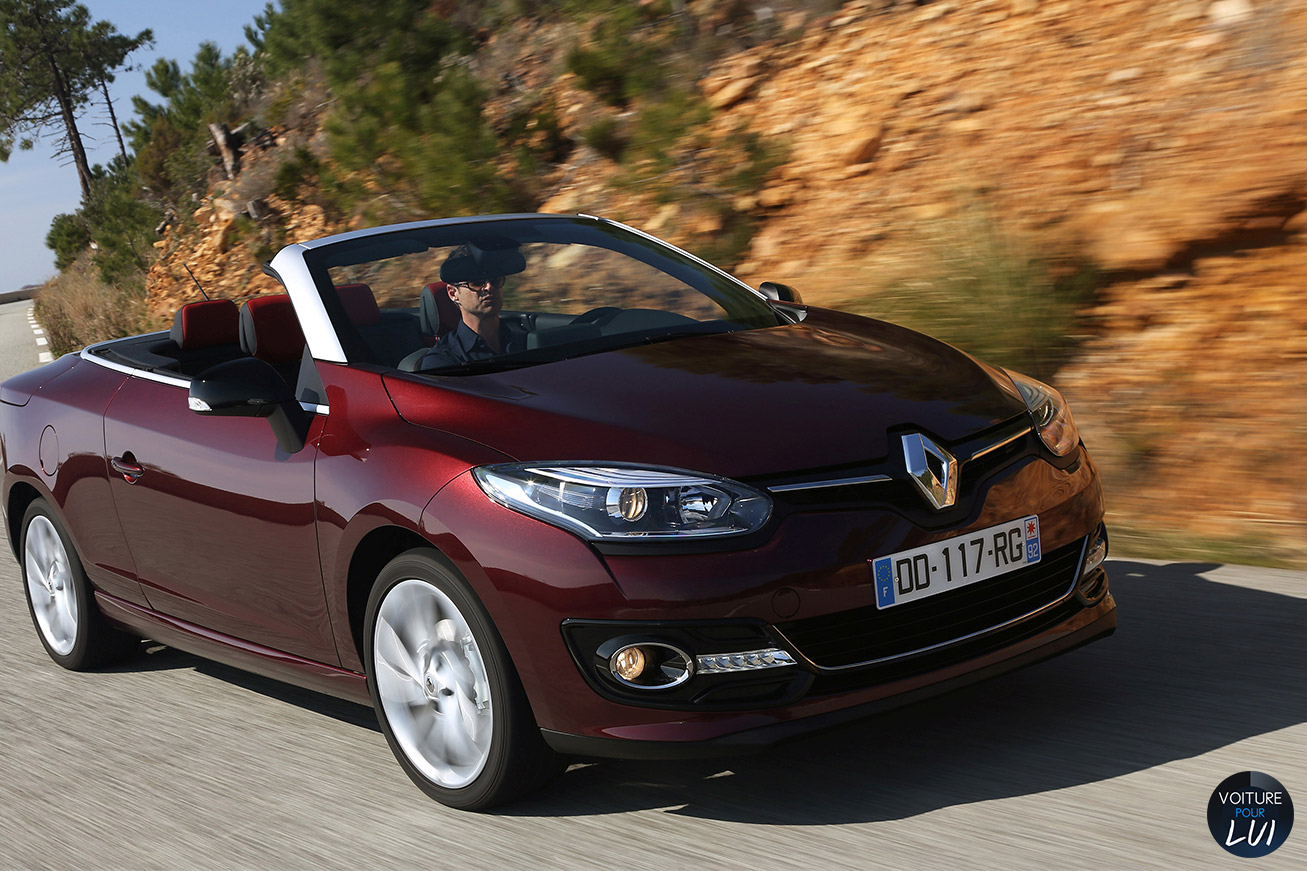 photo renault megane cc 2014 decapotable