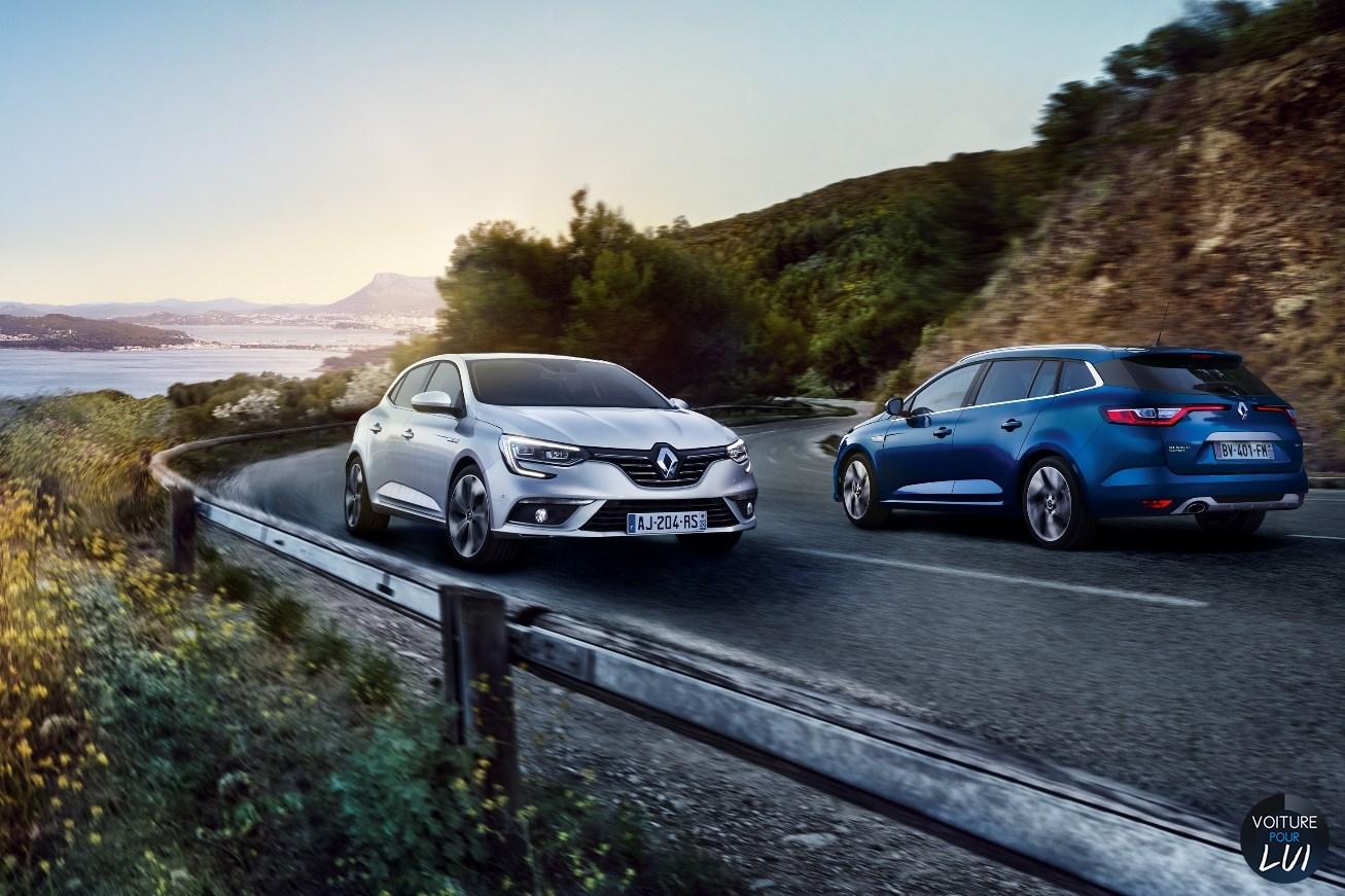 Renault  MEGANE ESTATE 2017   Bleu Gris Route Avant Arriere  http://www.voiturepourlui.com/images/Renault//Exterieur/Renault_Megane_Estate_2017_005_bleu_gris_route_avant_arriere.jpg