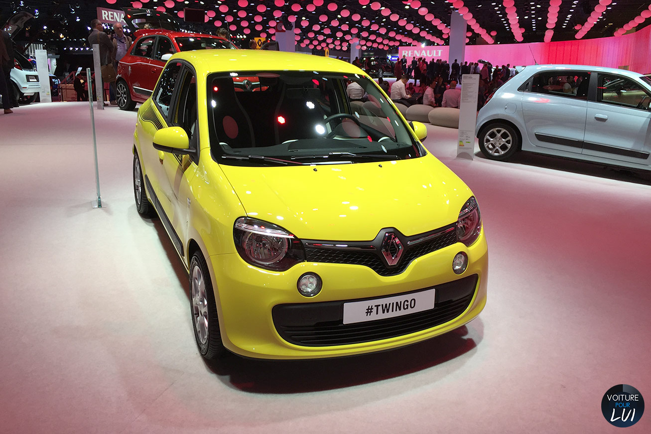 toutes les photos renault twingo mondial auto 2014 sur voiture pour lui. Black Bedroom Furniture Sets. Home Design Ideas