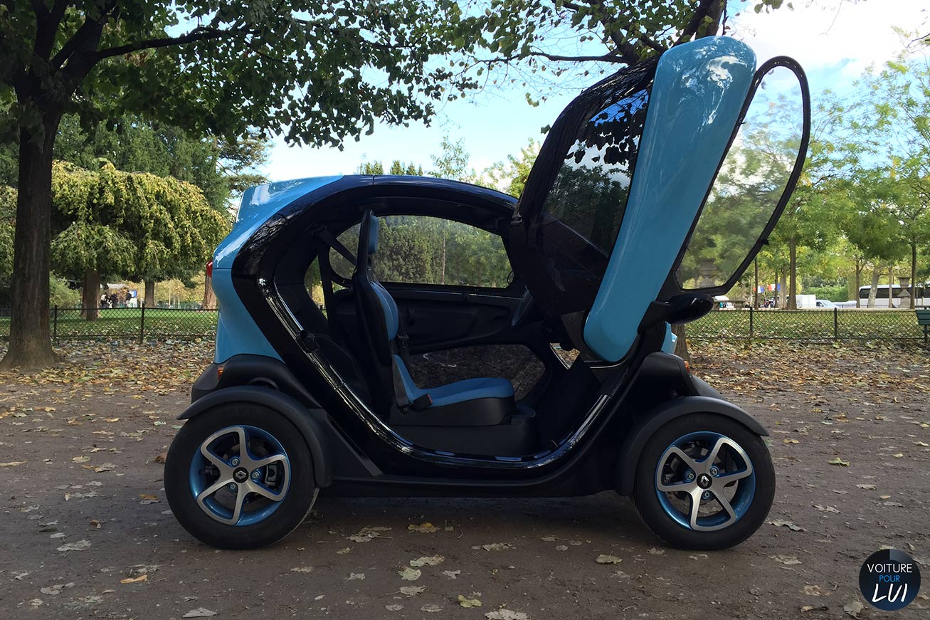 photo renault twizy intens 2014 profil. Black Bedroom Furniture Sets. Home Design Ideas
