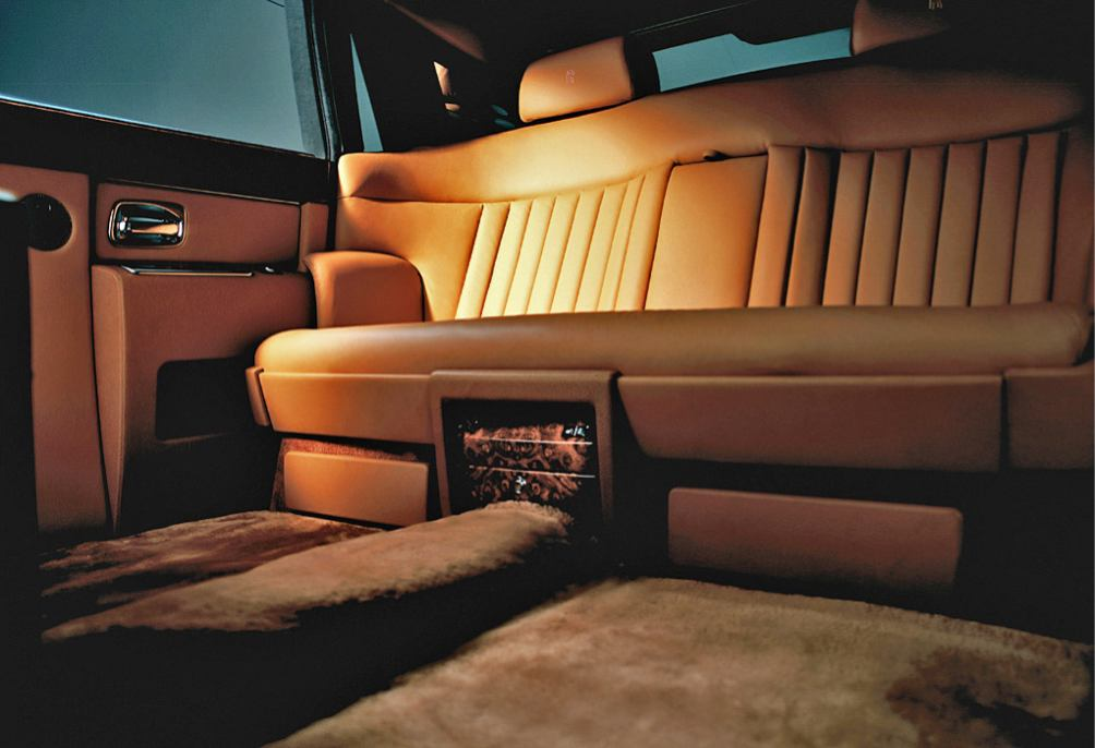 Rolls royce phantom long 2007 voiture pour lui for Interieur rolls royce