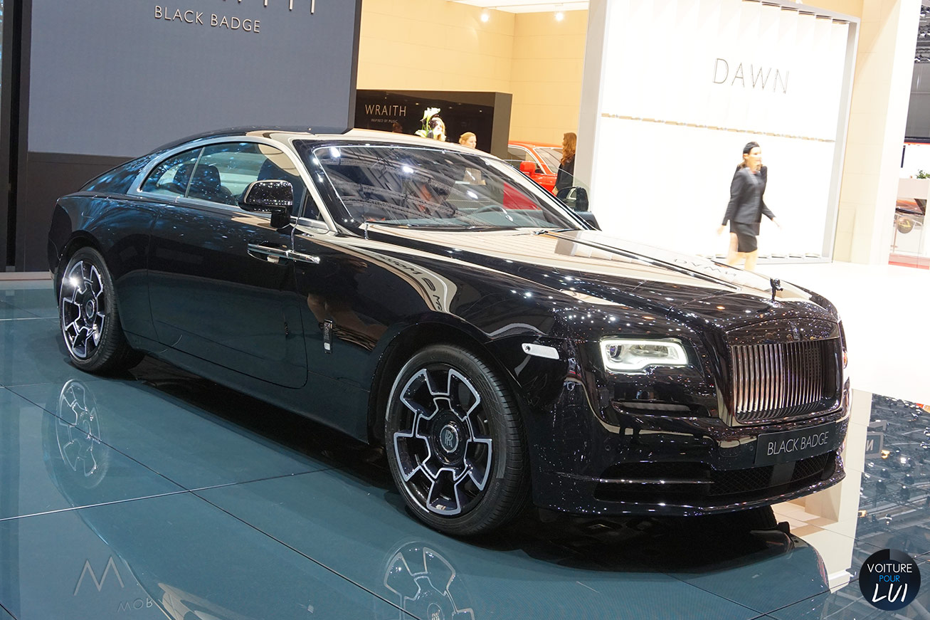 Les nouvelles photos de : Wraith-Black-Badge-Salon-Geneve-2016