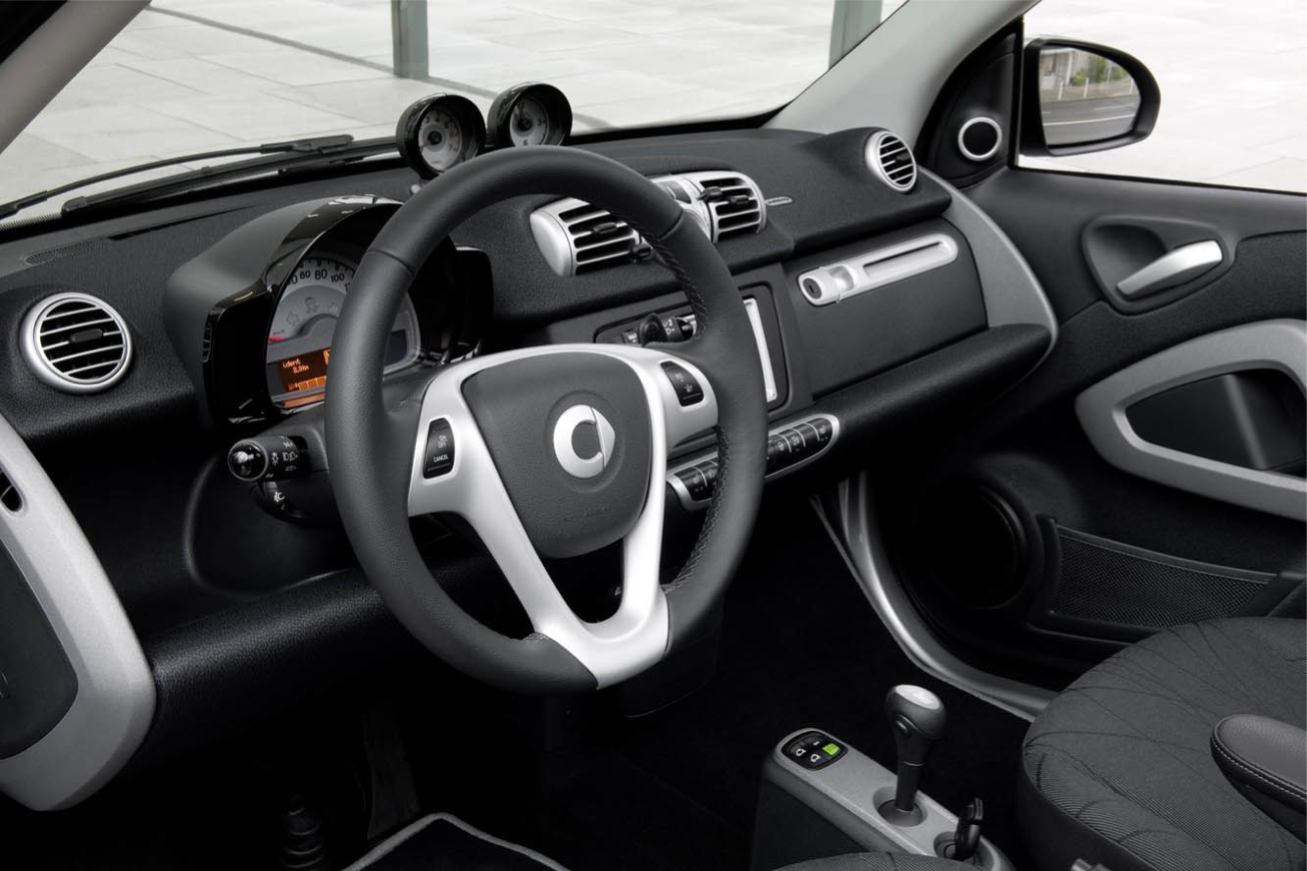 Photos smart fortwo 2011 numero 22 for Smart interieur