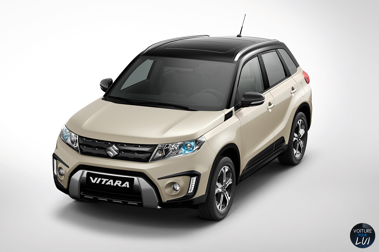 suzuki vitara 2015 blanc. Black Bedroom Furniture Sets. Home Design Ideas