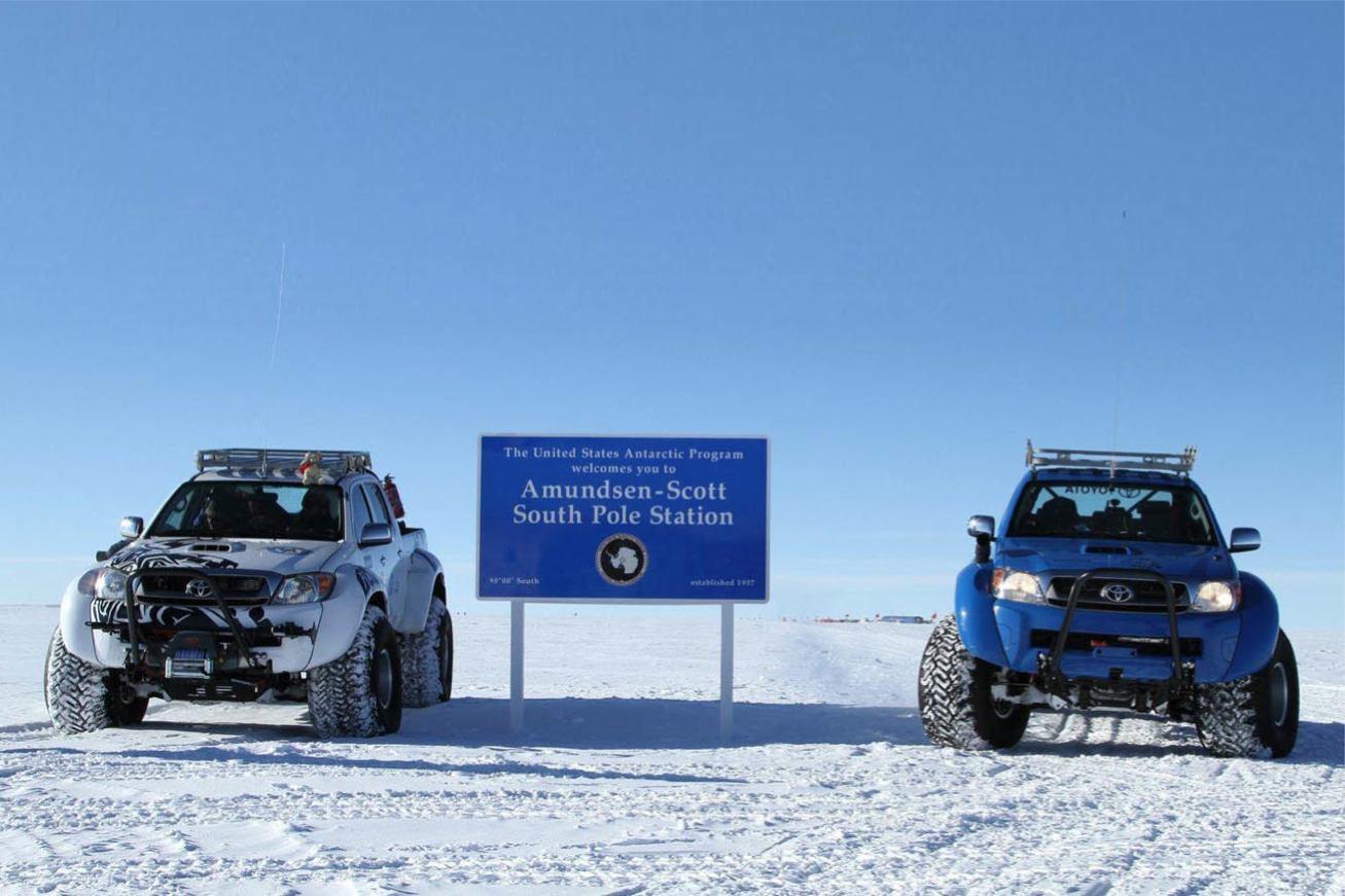 Les nouvelles photos de : Hilux-Antarctica