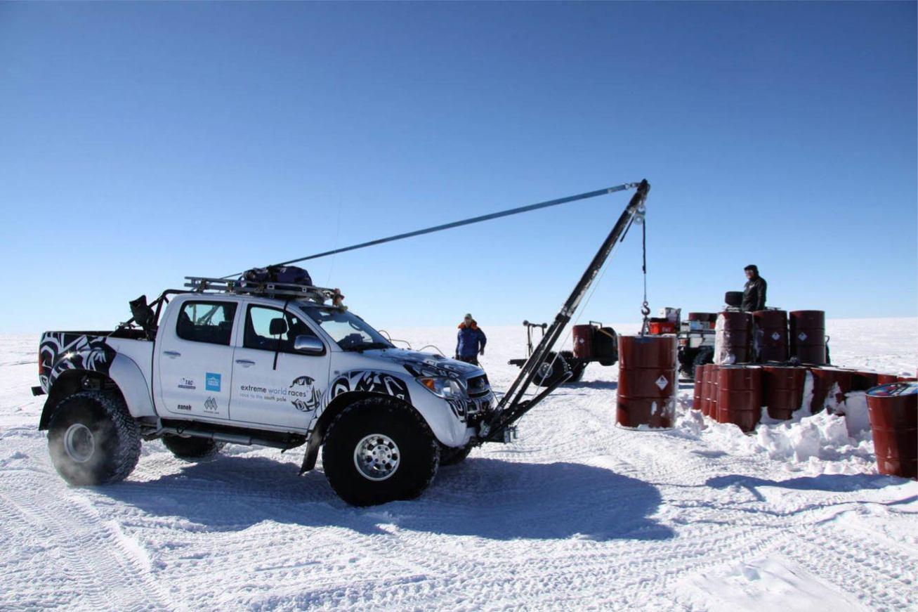 Toyota Hilux Antarctica