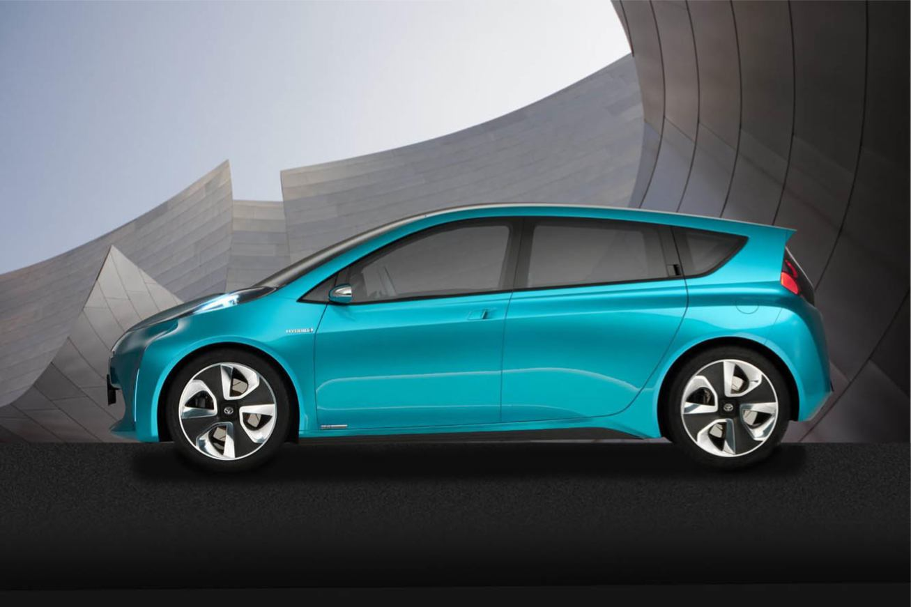 Les nouvelles photos de : Prius-C-Concept