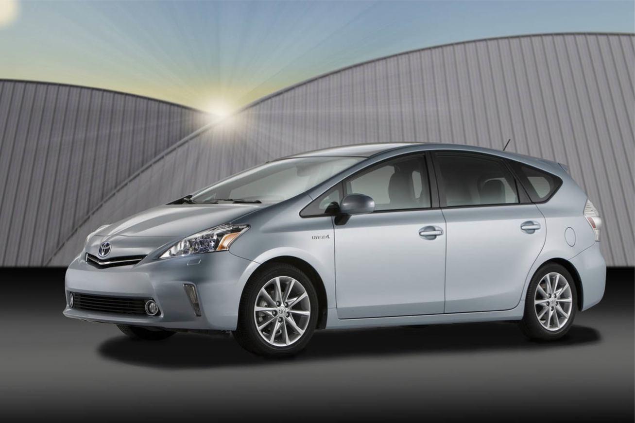 Les nouvelles photos de : Prius-V