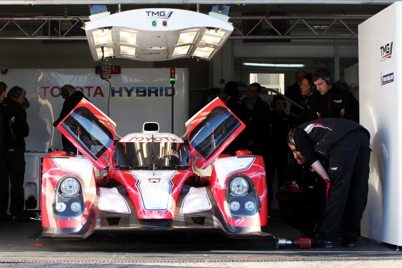 Toyota TS030 Hybride LMP1