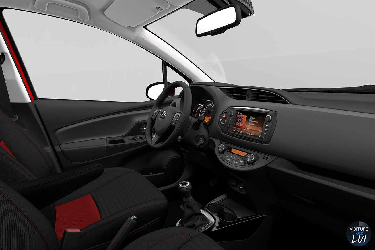 Photos toyota yaris 2014 2014 numero 21 for Interieur yaris