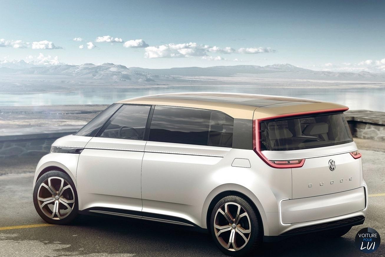 Volkswagen Budd e Concept 2016
