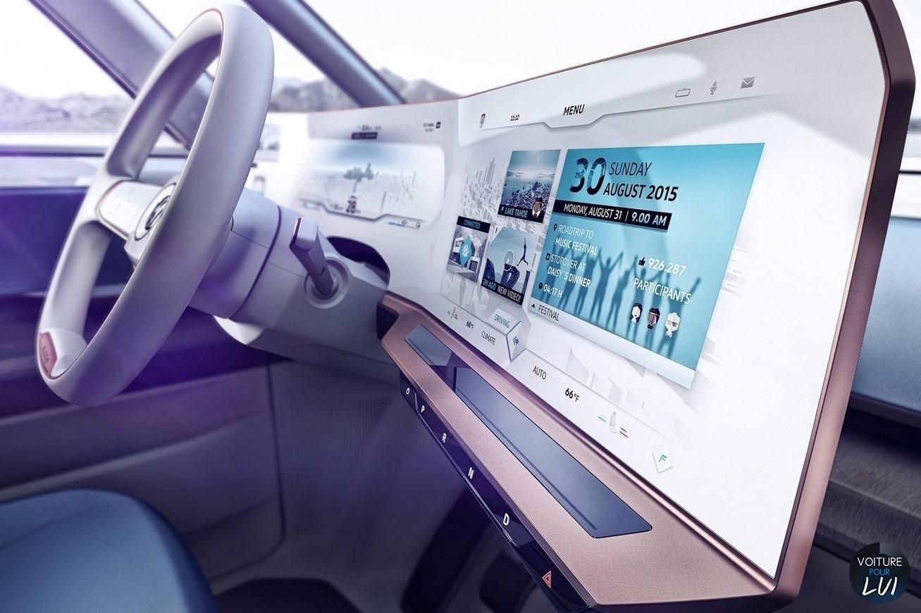 Volkswagen  BUDD E CONCEPT 2016    http://www.voiturepourlui.com/images/Volkswagen//Interieur/Volkswagen_Budd_e_Concept_2016_002.jpg