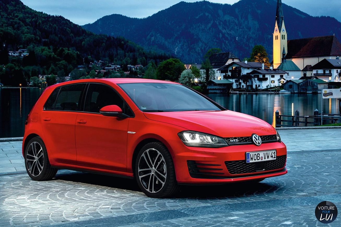 Volkswagen Golf-7-GTD