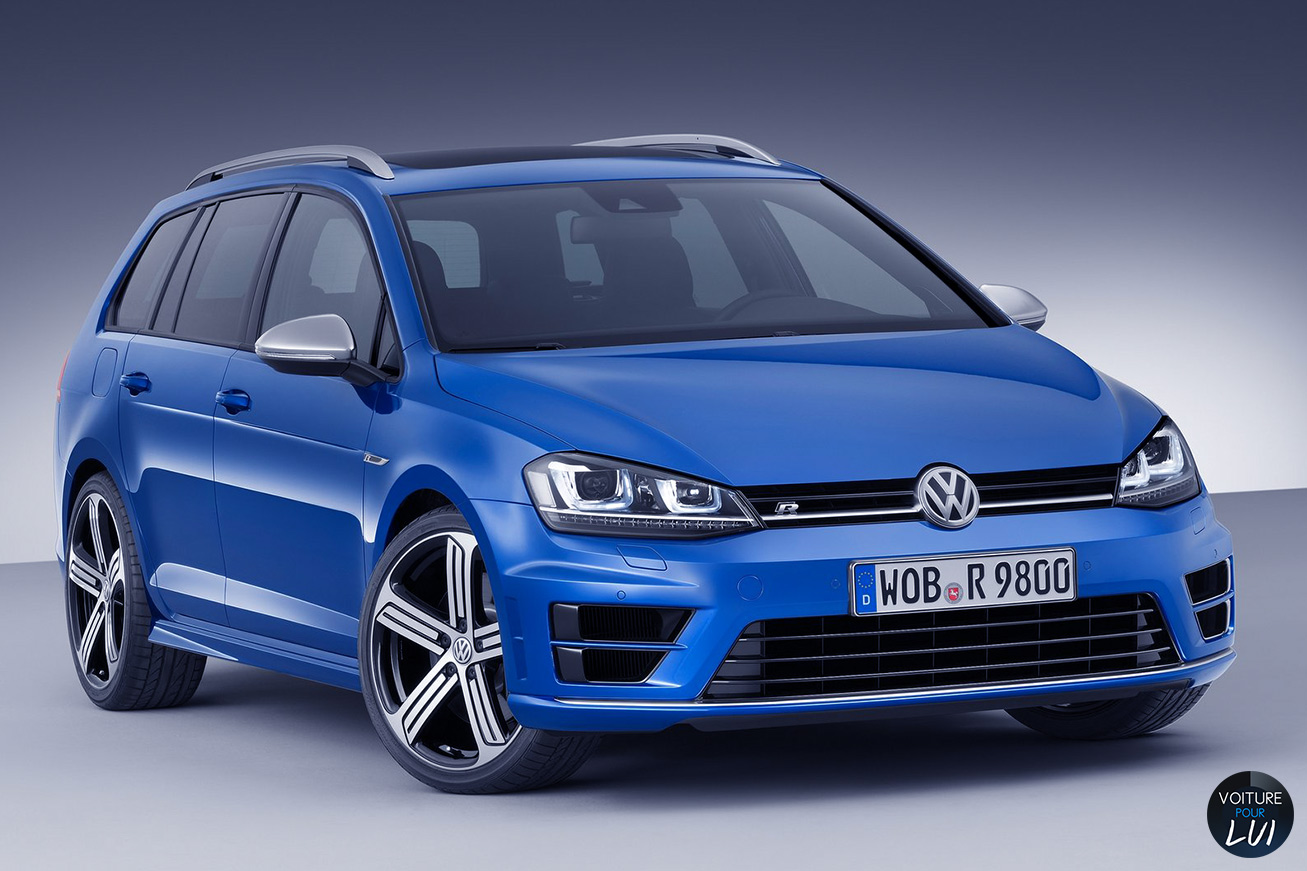 volkswagen golf r sw break photo. Black Bedroom Furniture Sets. Home Design Ideas