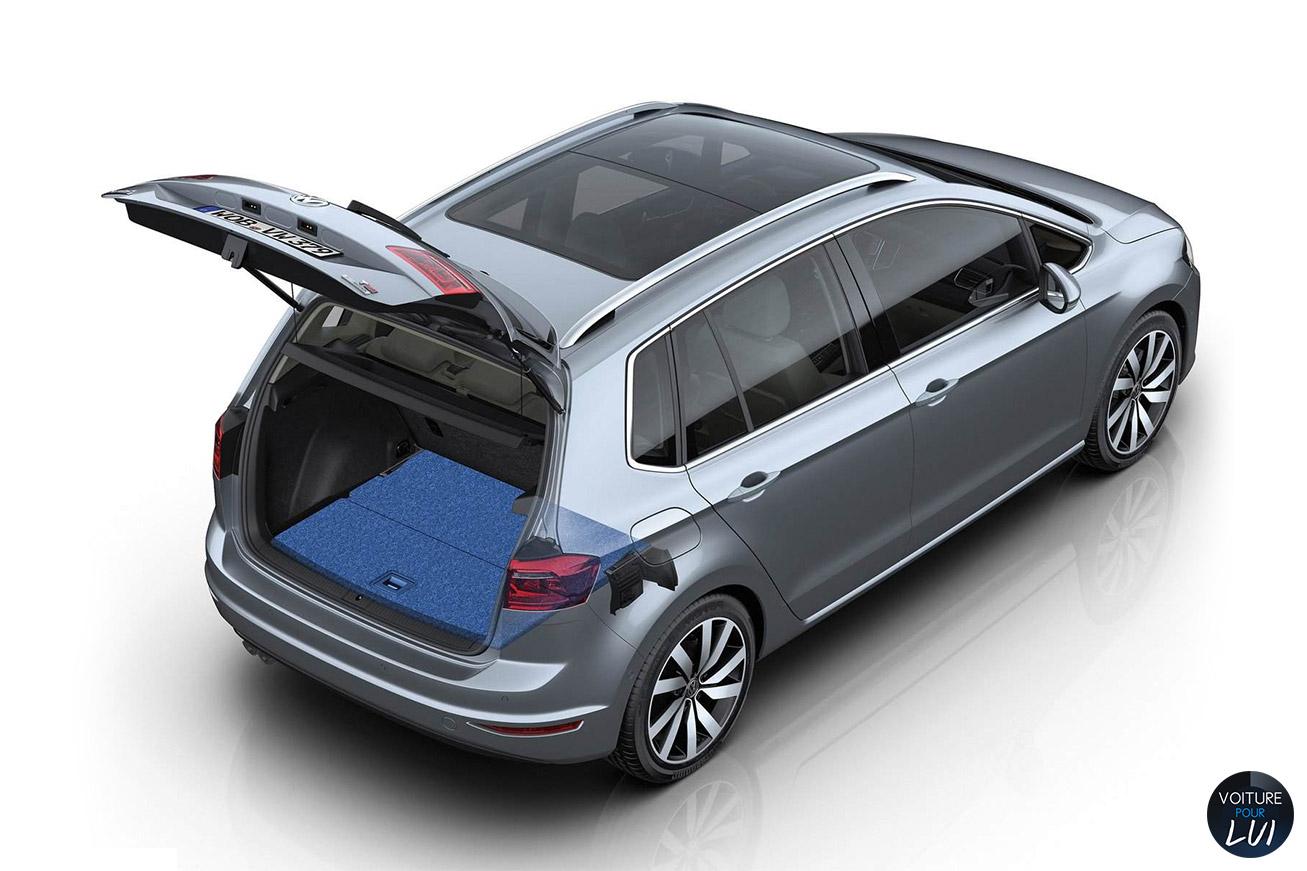 clich volkswagen golf sportsvan profil. Black Bedroom Furniture Sets. Home Design Ideas