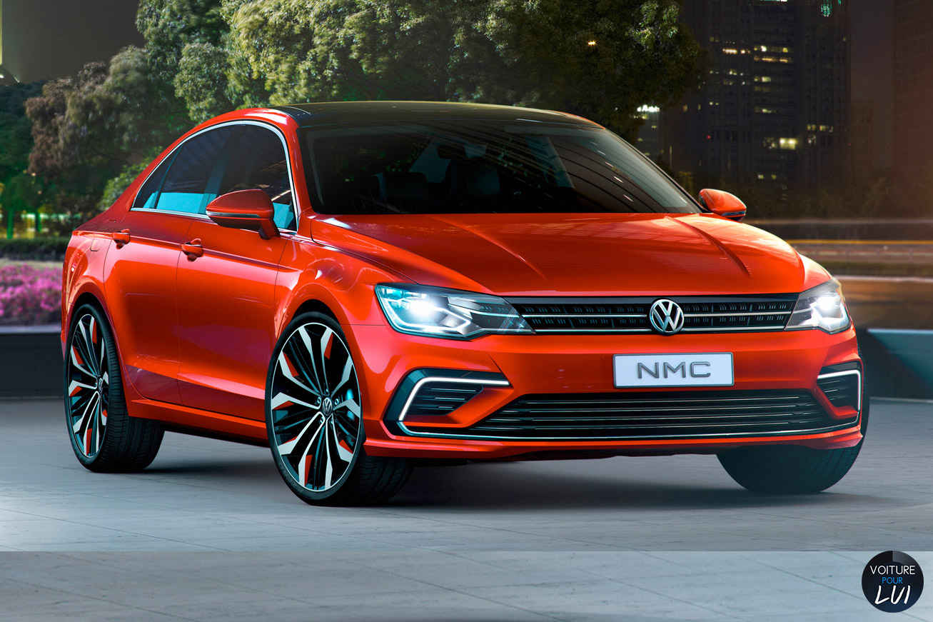 Nouvelle photo : VolkswagenNew-Midsize-Coupe-Concept