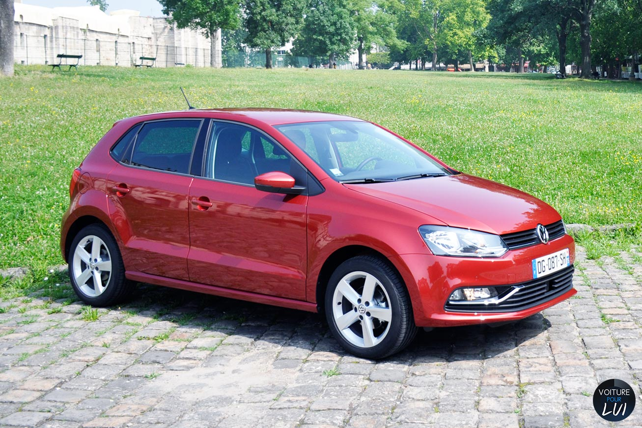 volkswagen polo sportline 1 2 tsi 90 citadine photo. Black Bedroom Furniture Sets. Home Design Ideas
