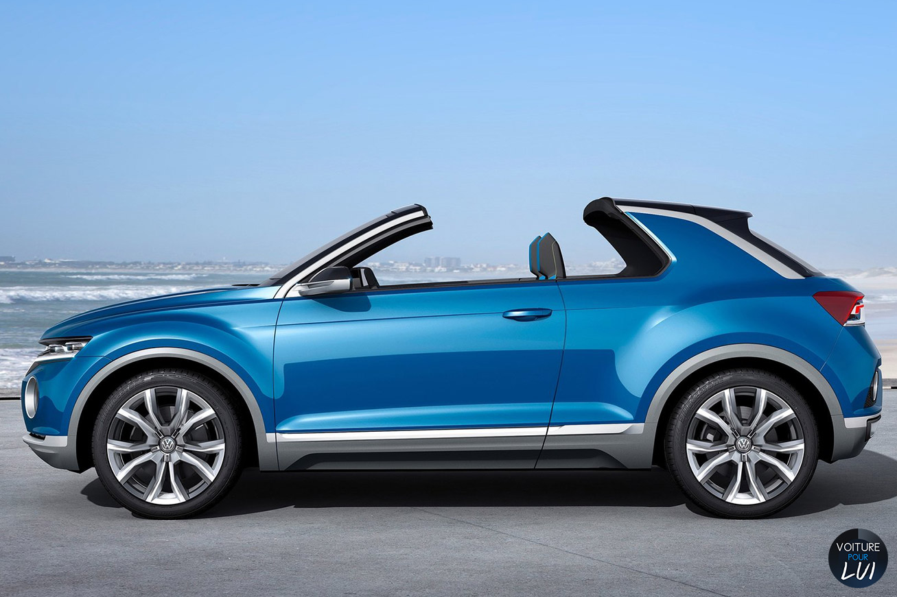 Cliché Volkswagen T Roc Concept Cabriolet