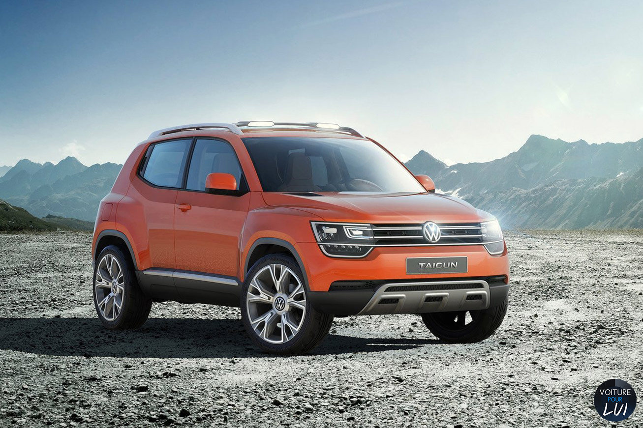 Nouvelle photo : VolkswagenTaigun-Concept