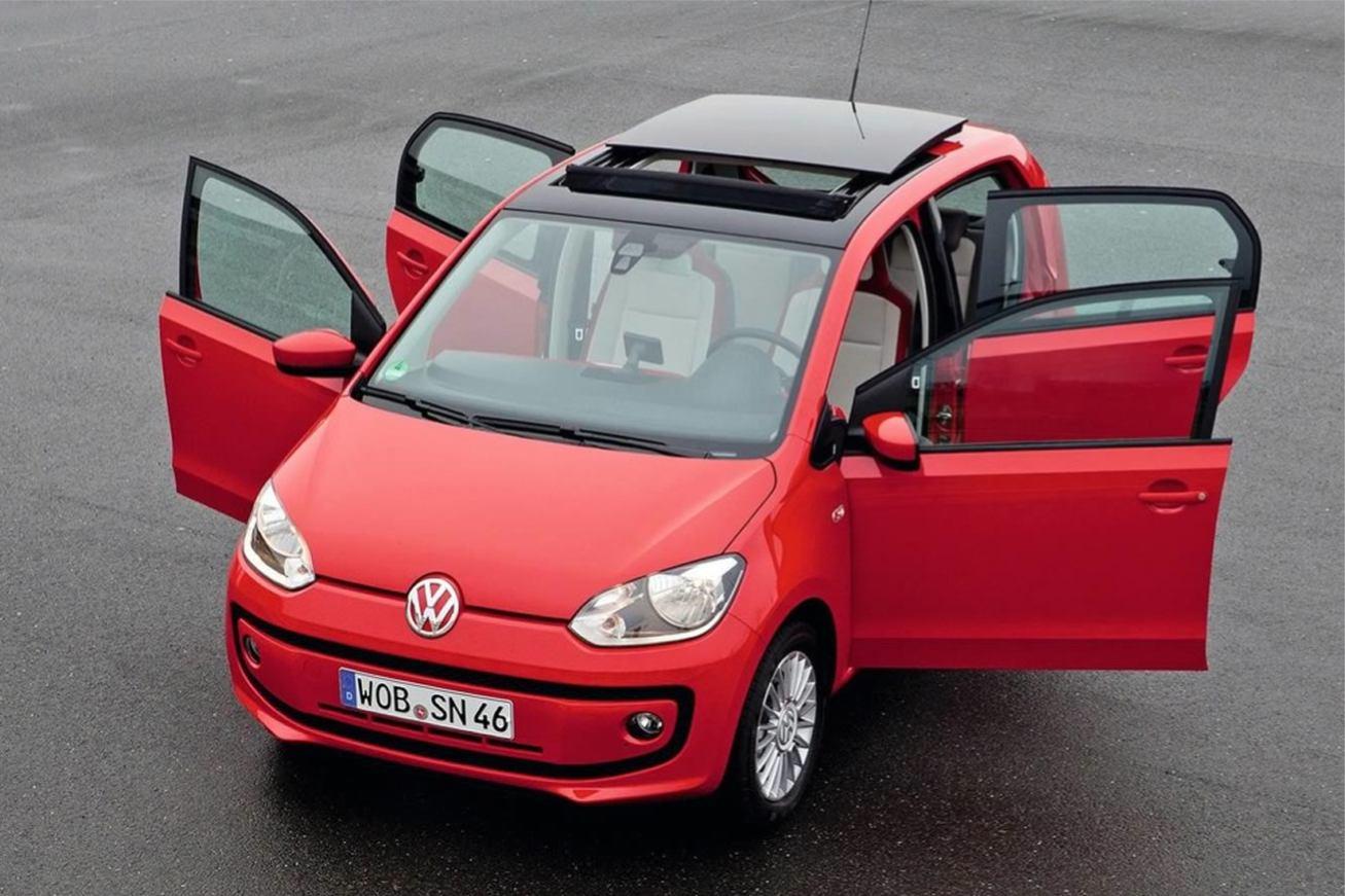 volkswagen up 4 portes voiture pour lui. Black Bedroom Furniture Sets. Home Design Ideas