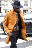 Trench Coat Homme Tendance Manteau photo