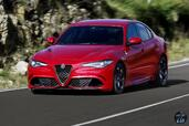Alfa-Romeo Giulia Quadrifoglio 2016  photo 9 http://www.voiturepourlui.com/images/Alfa-Romeo/Giulia-Quadrifoglio-2016/Exterieur/Alfa_Romeo_Giulia_Quadrifoglio_2016_009_rouge_avant.jpg
