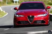 Alfa-Romeo Giulia Quadrifoglio 2016  photo 10 http://www.voiturepourlui.com/images/Alfa-Romeo/Giulia-Quadrifoglio-2016/Exterieur/Alfa_Romeo_Giulia_Quadrifoglio_2016_010_rouge_avant_face_feux_phares.jpg