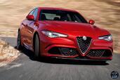 Alfa-Romeo Giulia Quadrifoglio 2016  photo 11 http://www.voiturepourlui.com/images/Alfa-Romeo/Giulia-Quadrifoglio-2016/Exterieur/Alfa_Romeo_Giulia_Quadrifoglio_2016_011_rouge_avant_face.jpg