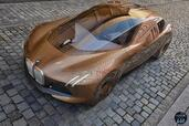 Bmw Vision Next 100 Concept 2016  photo 7 http://www.voiturepourlui.com/images/Bmw/Vision-Next-100-Concept-2016/Exterieur/Bmw_Vision_Next_100_Concept_2016_007_marron_orange_avant_dessus.jpg