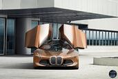 Bmw Vision Next 100 Concept 2016  photo 14 http://www.voiturepourlui.com/images/Bmw/Vision-Next-100-Concept-2016/Exterieur/Bmw_Vision_Next_100_Concept_2016_016_marron_orange_avant_portes.jpg