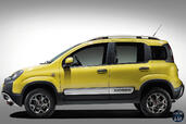 Fiat Panda Cross  photo 5 http://www.voiturepourlui.com/images/Fiat/Panda-Cross/Exterieur/Fiat_Panda_Cross_005_jaune.jpg