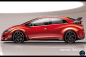 Honda Civic Type R Concept  photo 6 http://www.voiturepourlui.com/images/Honda/Civic-Type-R-Concept/Exterieur/Honda_Civic_Type_R_Concept_006_profil.jpg
