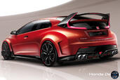 Honda Civic Type R Concept  photo 7 http://www.voiturepourlui.com/images/Honda/Civic-Type-R-Concept/Exterieur/Honda_Civic_Type_R_Concept_007_calandre.jpg