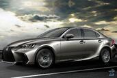 Lexus IS 2017  photo 8 http://www.voiturepourlui.com/images/Lexus/IS-2017/Exterieur/Lexus_IS_2017_008_avant_gris_metal.jpg