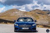 Mercedes SL 2016  photo 9 http://www.voiturepourlui.com/images/Mercedes/SL-2016/Exterieur/Mercedes_SL_2016_009_bleu_avant.jpg
