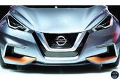 Nissan Sway Concept Salon Geneve 2015  photo 8 http://www.voiturepourlui.com/images/Nissan/Sway-Concept-Salon-Geneve-2015/Exterieur/Nissan_Sway_Concept_Salon_Geneve_2015_008_calandre.jpg