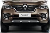 Renault Alaskan 2017  photo 20 http://www.voiturepourlui.com/images/Renault/Alaskan-2017/Exterieur/Renault_Alaskan_2017_021_avant_marron_logo_sigle_face.jpg