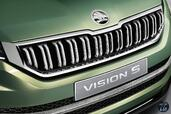Skoda VisionS Concept 2016  photo 13 http://www.voiturepourlui.com/images/Skoda/VisionS-Concept-2016/Exterieur/Skoda_VisionS_Concept_2016_015_vert_roue_jante_pneu_logo.jpg