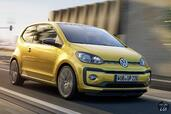Volkswagen Up 2017  photo 8 http://www.voiturepourlui.com/images/Volkswagen/Up-2017/Exterieur/Volkswagen_Up_2017_008_jaune_or_avant_face.jpg