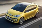 Volkswagen Up 2017  photo 10 http://www.voiturepourlui.com/images/Volkswagen/Up-2017/Exterieur/Volkswagen_Up_2017_010_jaune_or_toit_dessus_avant_face_cote.jpg